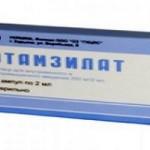 Можна приймати Етамзилат під час вагітності