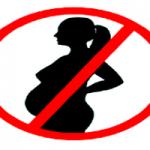 Табу для вагітних