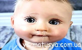 Нежить у немовлят: як допомогти дитині