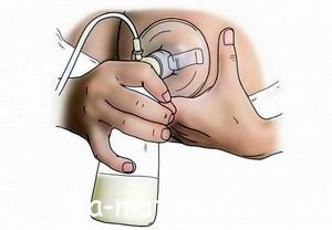 Як правильно тримати молоковідсмоктувач