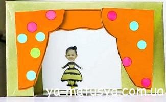 Казка своїми руками - домашній ляльковий театр для малюків