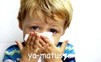 Ліки від нежиті (риніту) для дитини