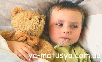 Температура і лихоманка у дитини - симптоми і лікування