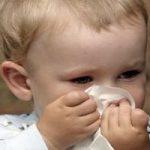 Застуда у маленької дитини – ГРЗ і ГРВІ