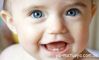 Перші зубки: як допомогти Вашому малюку?